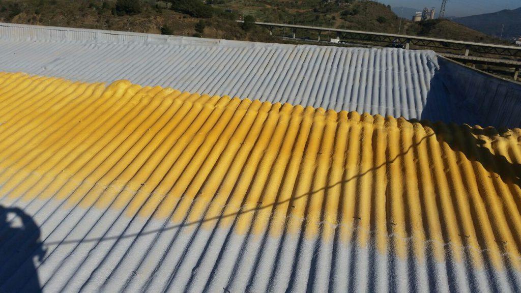 Aislamiento térmico tejado en Barcelona