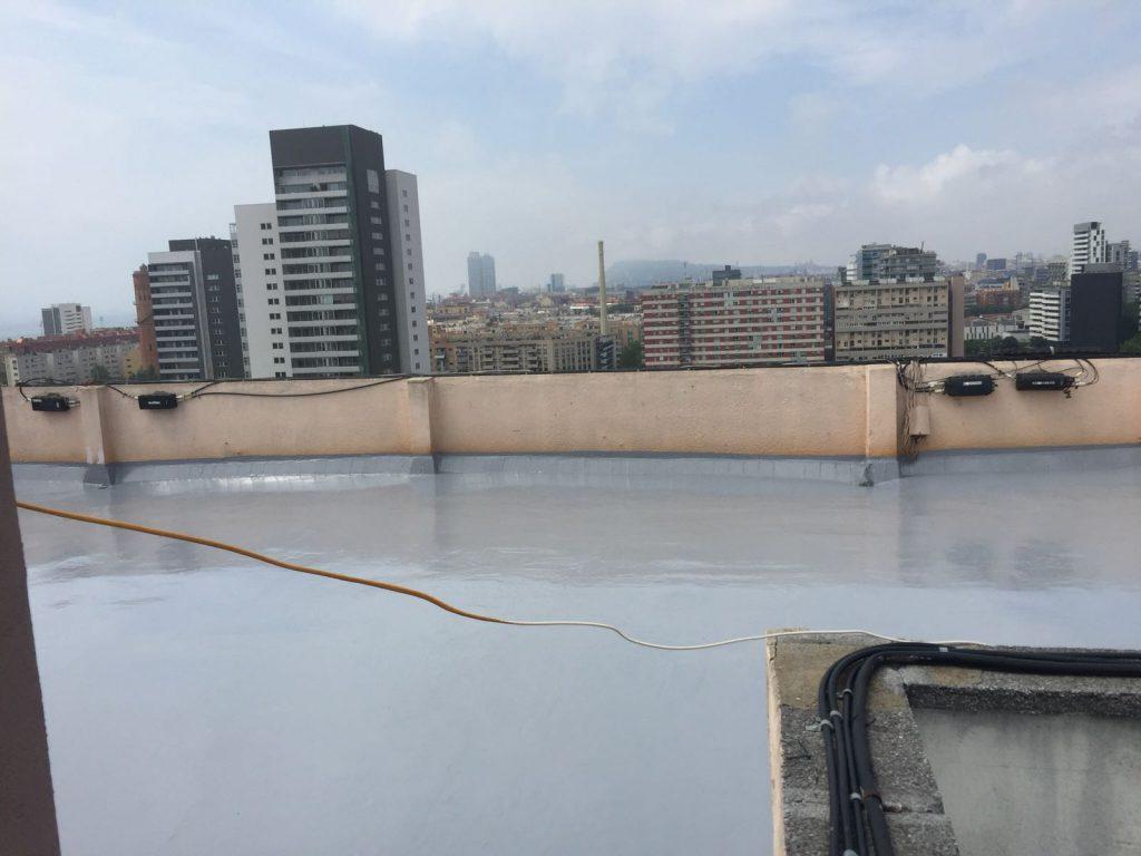 Rehabilitación de una terraza comunitaria en Barcelona
